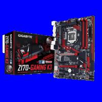 لوحة كمبيوتر مذربورد جيجابايت  Z170-Gaming k3