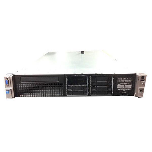 سيرفر راك اتش بي معالج اكسيون 20 MB كاش رام 32 جيجابيت HP ProLiant DL380P G8 E5 - 2650 V2(704558-421