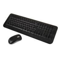 مايكروسوفت لوحة مفاتيح لاسلكية متوافقة مع بي سي& ماك - 800