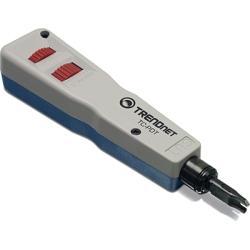أداة من شركة تريندنيت تساعد مخصصة للباتش بانل في الشبكات Punch Down Tool with 110 and Krone Blade TC-PDT