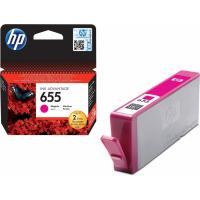 خرطوشة حبر hpاصلية HP 655 Magenta Original Ink Advantage Cartridge CZ111AE  لون أرجواني