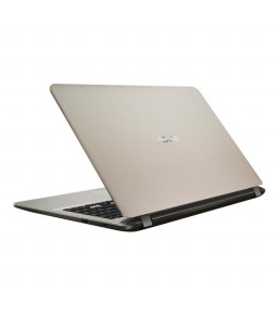 جهاز حاسب آلي محمول اسوس X441MA سيليرون ذاكرة 4 قيقا وقرص صلب 1 تيرا وشاشة 14 انش بنظام الدوس وضمان الوكيل لون ذهبي