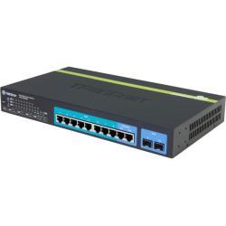 سويتش تريدنيت بتقنية POE مزود بـ 10منافذ للشبكة بسرعه جيجابيت TPE-1020WS WEB SMART