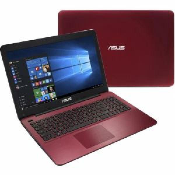 لابتوب اسوس نوت بوك  معالج i5- رام 4 جيجا  ويندوز10 احمر Asus-X555LJ-XX1070T