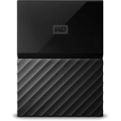 ويسترن ديجتال هارد ديسك خارجي محمول ماي باسبورت 1 تيرا USB 3.0 اسود