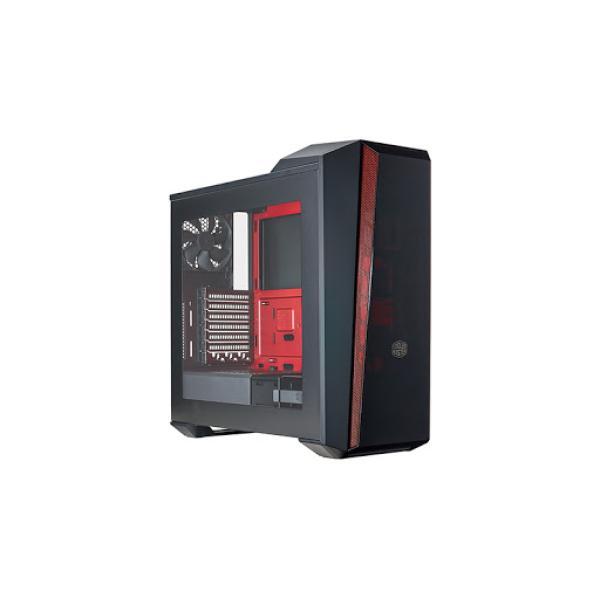 هيكل كمبيوتر كولر ماستر MCX-B5S3T-RWNN - أسود