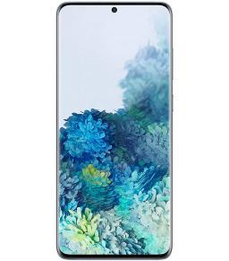 سامسونج جالكسي اس 20 بلس ثنائي شرائح الاتصال - 128 جيجا، رام 12 جيجا، الجيل الخامس لون ازرق