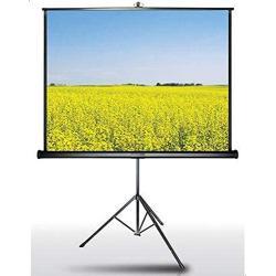 شاشة عرض بروجكتر بقاعدة حمل ثلاثية القوائم - 180 * 180 سم