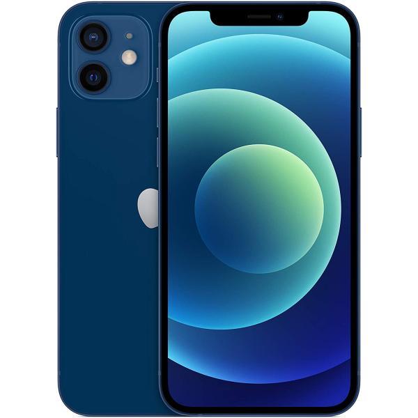 ابل ايفون 12 - 64 جيجا، رام 6 جيجا، الجيل الخامس 5G ، لون ازرق