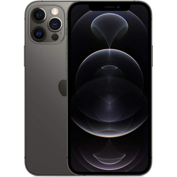 ابل ايفون 12 برو - 128 جيجا، رام 6 جيجا، الجيل الخامس 5G ، لون غرافيت