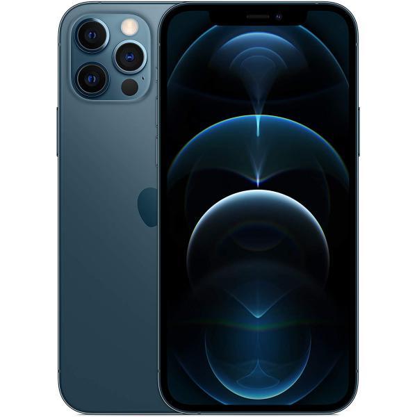 ابل ايفون 12 برو - 128 جيجا، رام 6 جيجا، الجيل الخامس 5G ، لون ازرق