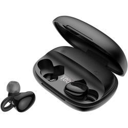 سماعة أذن مع حقيبة شحن من سليبرات JR-TL2 TWS BT5.0 (أسود)
