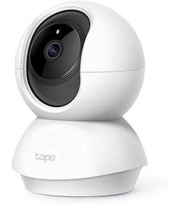 كاميرا مراقبة للمنزل بتقنية واي فاي وخاصية الدوران والإمالة - C200 من تي بي لينك