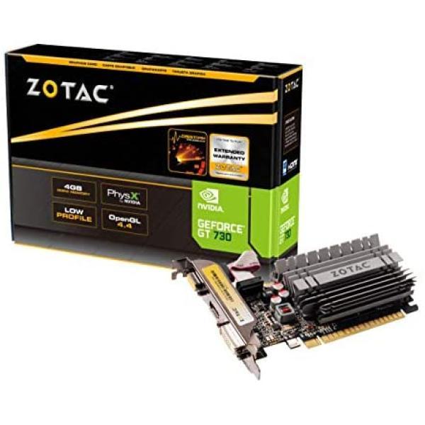 بطاقة رسومات نفيديا جي فورس GT 730 زوتاك - بسعة 4 جيجا  DDR3