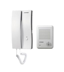 كوماكس DP-2S/DR-201D - طقم تليفون بوابة (دور فون) خارجي غلاف بلاستيك لشقة واحدة مع سماعة يد داخلية