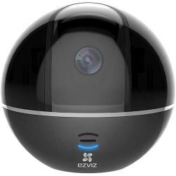 جهاز كاميرا لاسلكية تتبع الحركة لتغطية الغرفة بالكامل C6TC من ايزفيز لون اسود