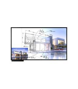 شاشة عرض تفعلية من ال جي موديل TN3F-B بتقنية UHD IPS متعددة اللمس مقاس 86 بوصة