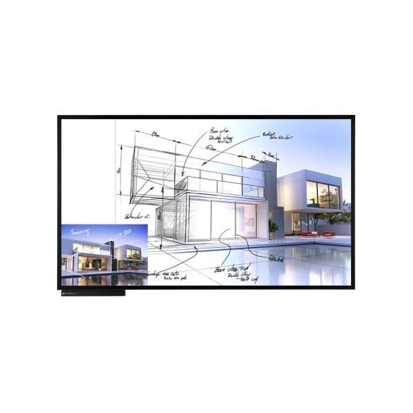 شاشة عرض تفعلية من ال جي موديل TN3F-B بتقنية UHD IPS متعددة اللمس مقاس 86 بوصة مع نظام ويندوز
