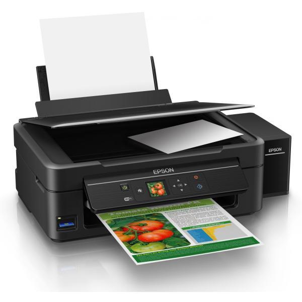 طابعة ابسون L455 المزودة بخزان حبر Epson L455 Wireless Inkjet