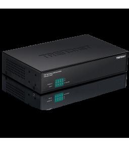 سويتش جيجا POE موديل tew-wlc100P عالي السرعة مزود ب 5 منافذ 5-Port 10/100/1000Mbps Fast Ethernet Switch