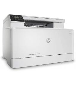 طابعة HP Color LaserJet Pro MFP M182n متعددة المهام بالألوان للطباعة والنسخ والمسح الضوئي - اللون: أبيض