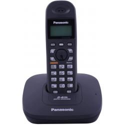 باناسونيك سينجل لاين 2.4 جيجاهيرتز KX-TG3611SX هاتف لاسلكي رقمي - اسود