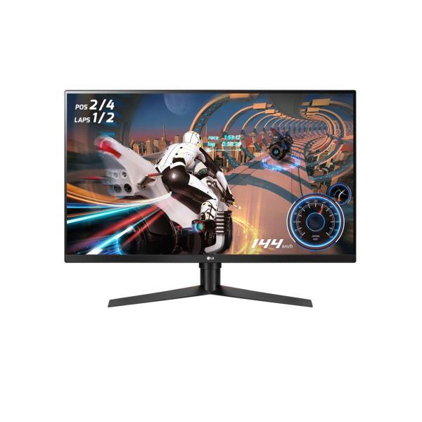 شاشة ال جي مقاس 31.5 بوصة دقة QHD (2560 × 1440) VESA DisplayHDR™ 400 مع تقنية Radeon FreeSync™ 2 معدل تحديث الشاشة يبلغ 144 هرتز موديل 32GK850F-B