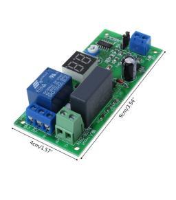 تأخير المؤقت التبديل إيقاف تشغيل وحدة التتابع 0 ثانية - 99  (220  فولت)