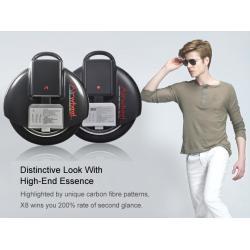 سكوتر العجلة الكهربائي التوازن الذكي اير ويل اكس 8