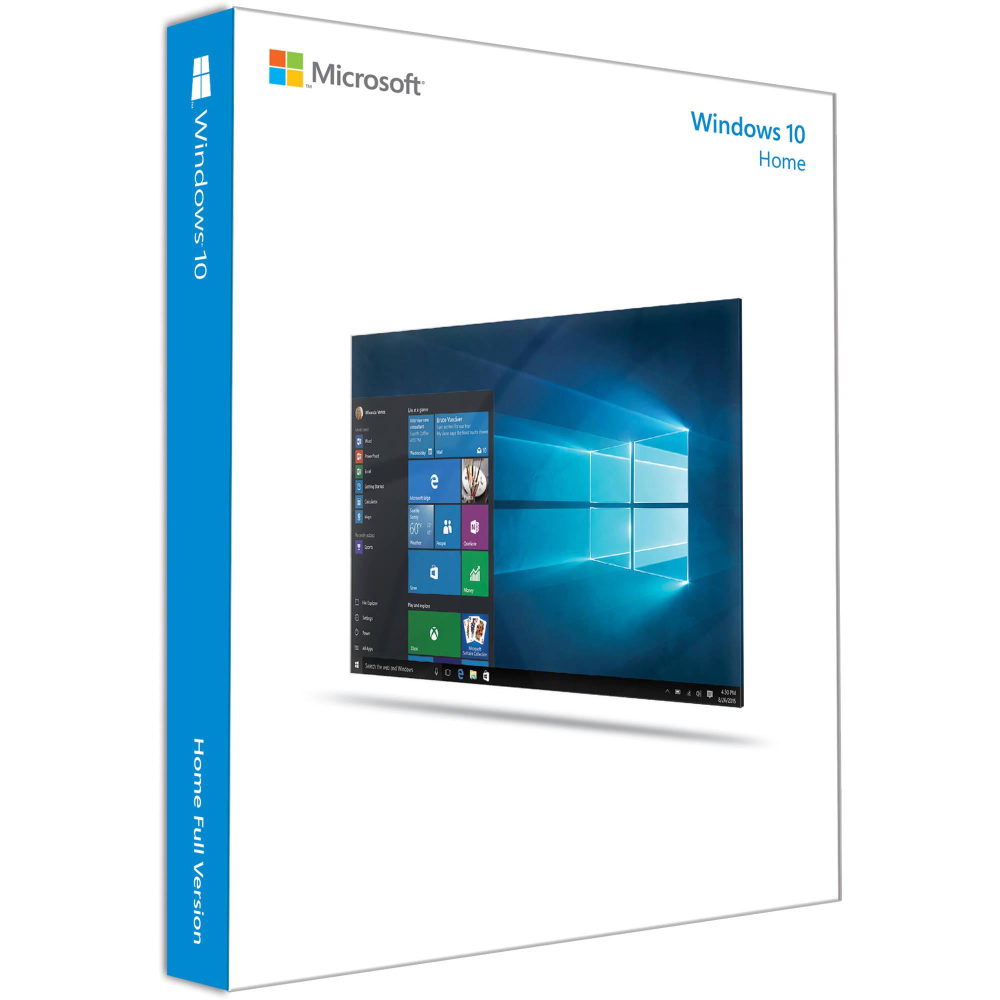 النسخة الاصلية من ويندوز 10 Microsoft Windows 10 Home