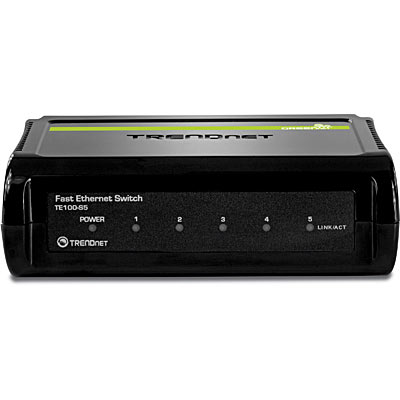 محول انترنت TE100-S5 5-Port 10/100Mbps Fast Ethernet Switch
