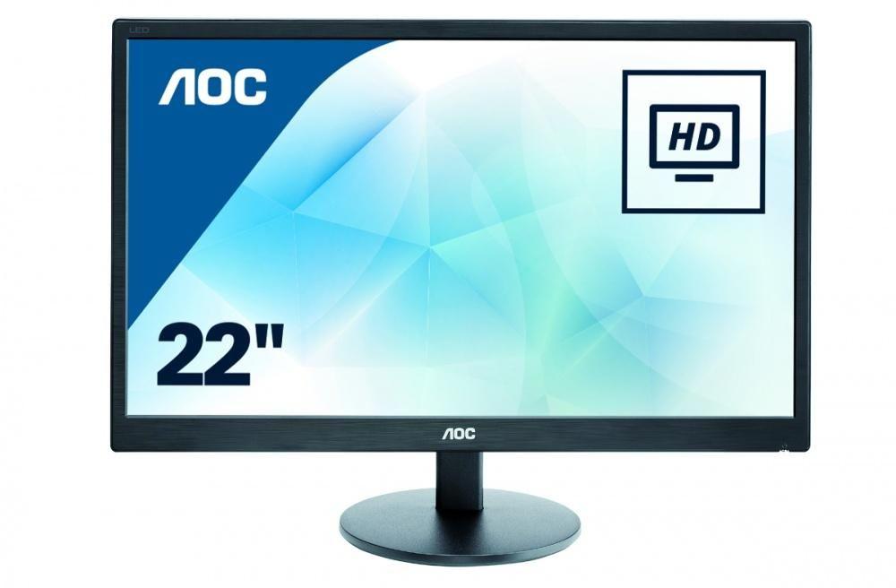 AOC شاشة ال اي دي 21.5 إنش موديل E2270SWN