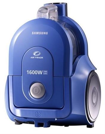 SC4300 المكنسة الاسطوانية من سامسونج 1600 وات بلون أزرق Twin Chamber System™