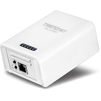 أكسس بوينت وايرليس تريندنيت مزود الطاقة من مأخذ الكهرباء  Powerline 200 AV TPL-310AP
