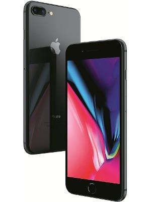 ابل ايفون 8 بلس مع فيس تايم 64 جيجا رمادي  الجيل الرابع 4 جي