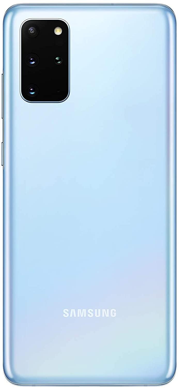 هاتف سامسونج جالاكسي اس 20 بلس بشريحتي اتصال - بذاكرة داخلية سعة 128 جيجابايت وذاكرة رام سعة 12 جيجابايت وتقنية 5 جي - أزرق فاتح