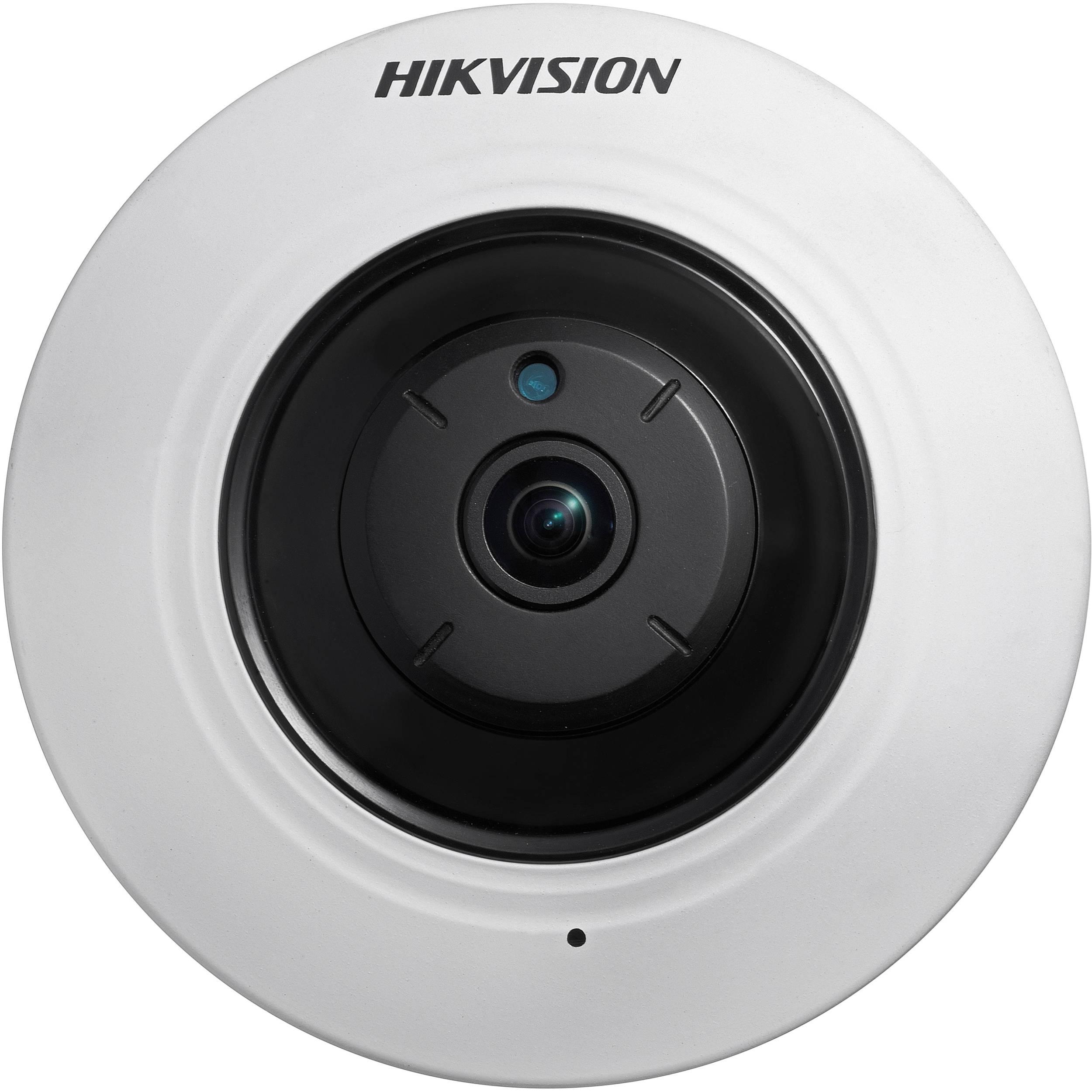 هيكفيجن كاميرا مراقبة داخلية عين السمكة بدقة 5 ميجا بيكسل تصوير ليلي نهاري DS-2CC52H1T-FITS
