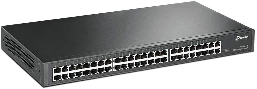 سوتش راك تي بي لينك 48 منفذ Port Gigabit Rackmount Switch TL-SF1048