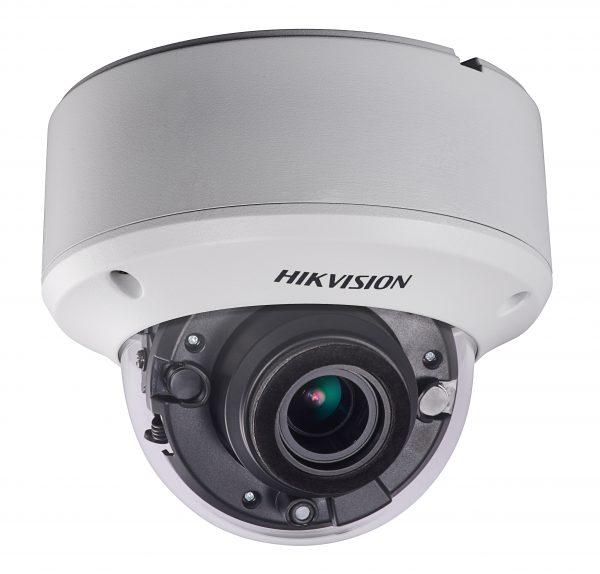 هيكفيجن كاميرا مراقبة داخلية - دقة 5 ميغا عدسة تكبير موترايزد رؤية ليلية 30 متر - DS-2CE56H1T-ITZ