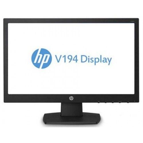 شاشة كمبيوتر إتش بي V194 - مقاس 19 انش