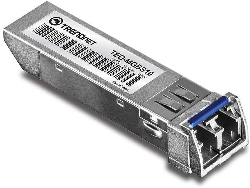 محول فايبر الى جيجابيت عالي السرعة بمود LC مفرد لمسافة 10 كيلومتر  Mini-GBIC Single-Mode LC Module TEG-MGBS10