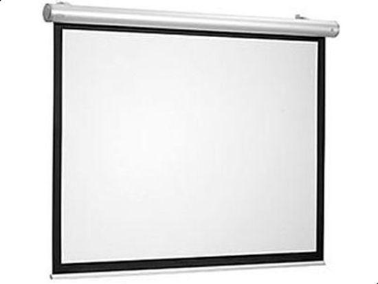 شاشة عرض بروجكتر كهربائية للسقف 180 * 180 سم مع جهاز تحكم عن بعد