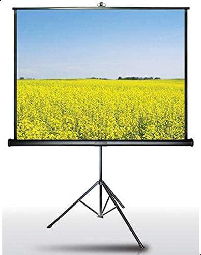 شاشة عرض بروجكتر بقاعدة حمل ثلاثية القوائم - 100 * 180 سم