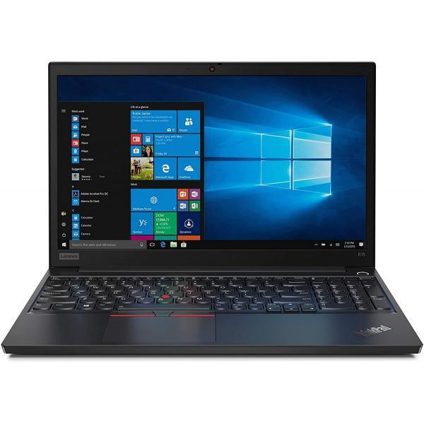لاب توب لينوفو ثينك باد موديل E15 - شاشة 15.6 انش عالية الدقة 1.8 جيجا انتل كور I7-10510U - هارد 1 تيرا - 8 جيجا - DOS