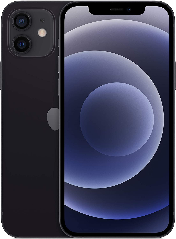 ابل ايفون 12 - 64 جيجا، رام 6 جيجا، الجيل الخامس 5G ، لون اسود