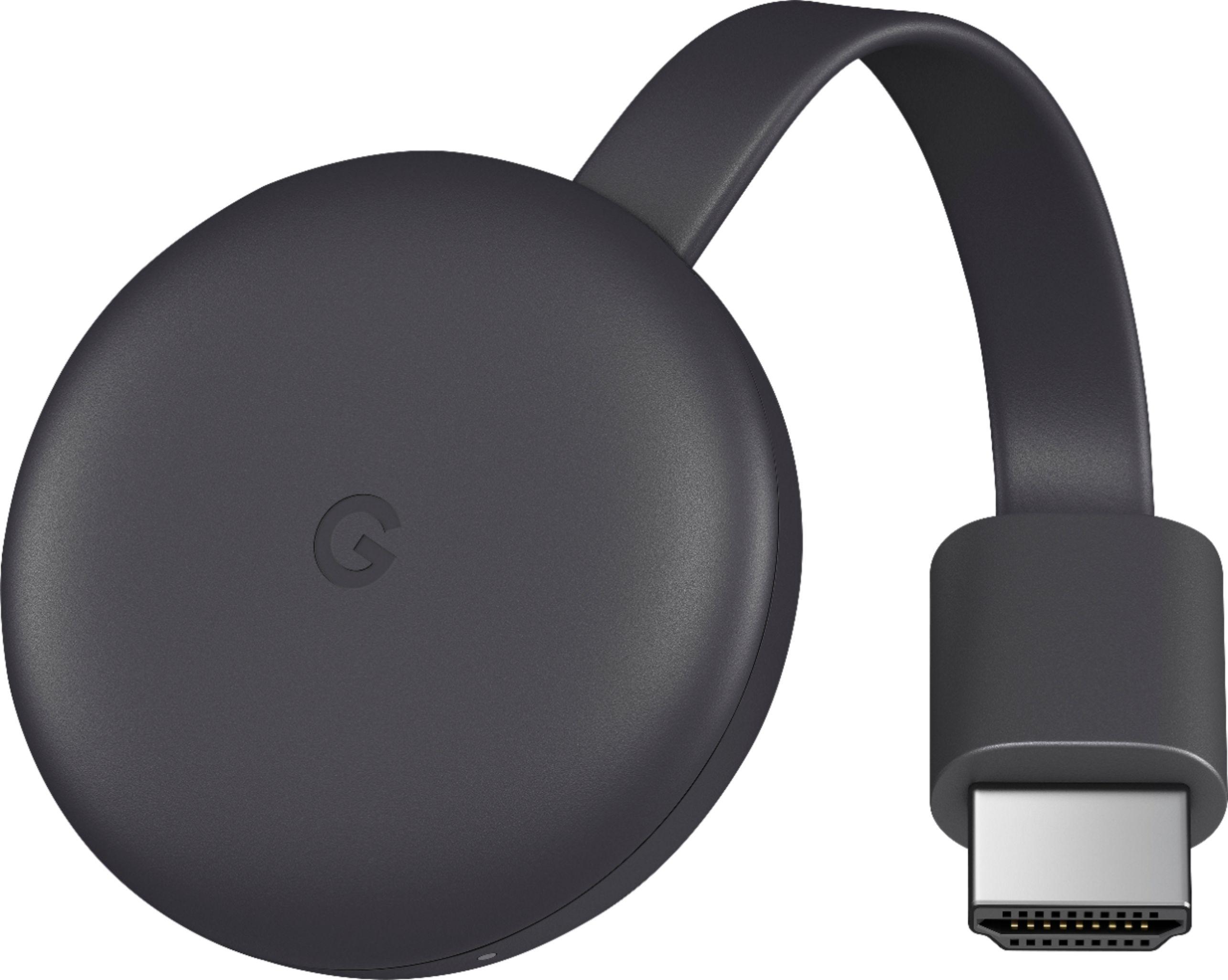 جهاز بث الوسائط المتعددة جوجل كرومكاست 3 أسود