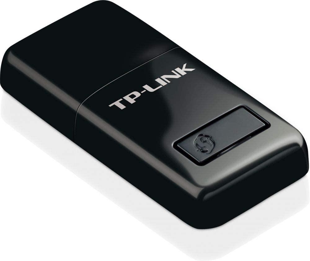 محول N USB لاسلكية صغيرة الحجم من تي بي لينك بسرعة 300Mbps موديل TL-WN823N