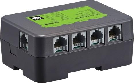 كوماكس موزع ادوار - يدعم 4 قنوات لربط 4 شاشات او سماعات فرعية