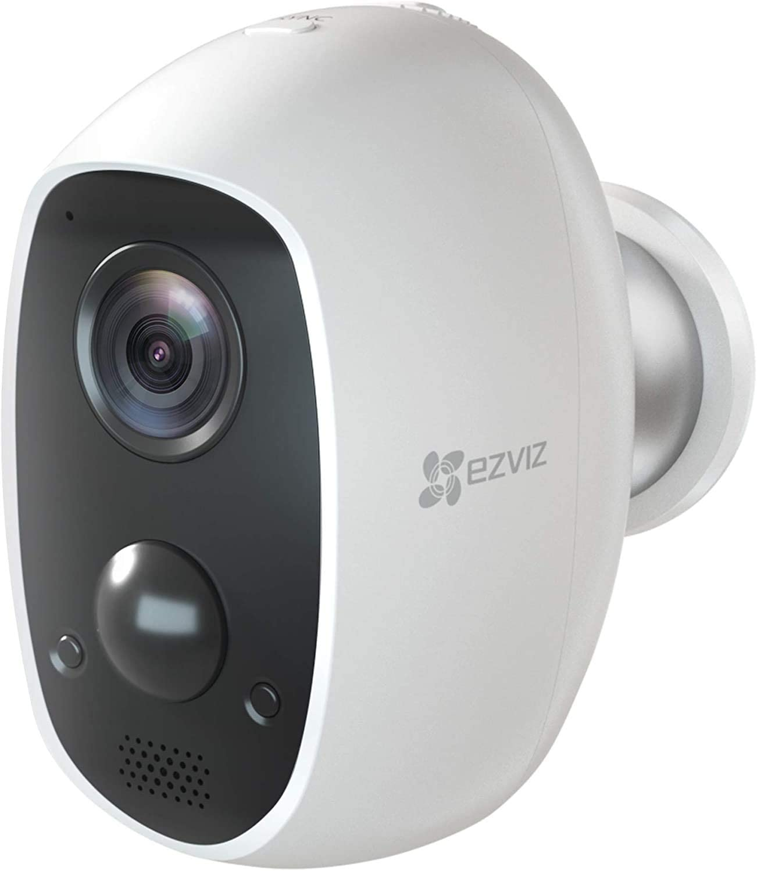 كاميرا ايزيفيز C3A تعمل بالبطارية للاماكن الداخلية والخارجية بدقة 1080p وباتصال واي فاي، يمكن استخدامها مع اليكسا