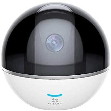 جهاز كاميرا لاسلكية تتبع الحركة لتغطية الغرفة بالكامل C6TC من ايزفيز لون ابيض